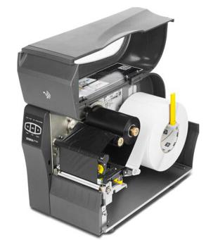 斑马打印机-- ZT230 加载介质和碳带(中文字幕)